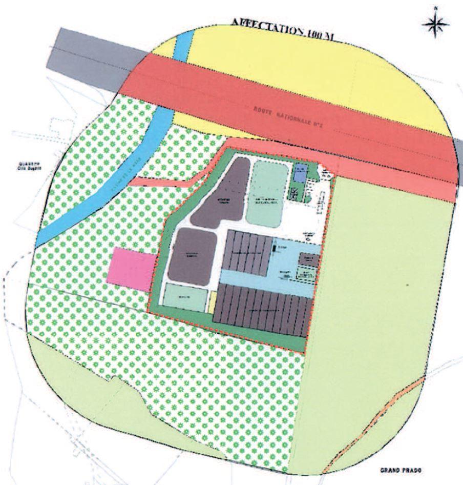Etude des périmètres de protection et de l'incidence du projet sur le milieu environnant