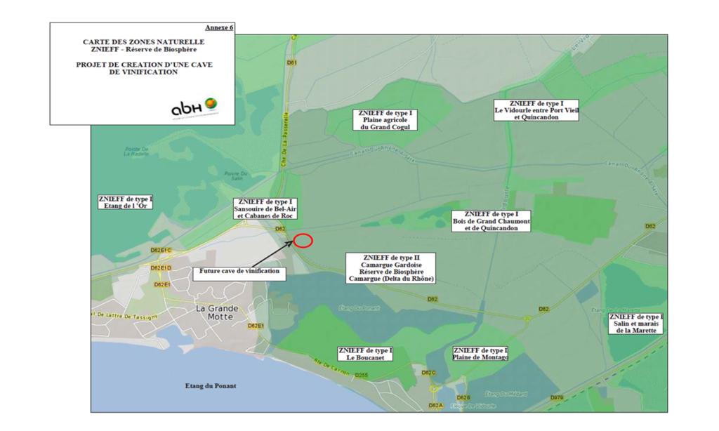 Situation du projet au regard des espaces protégés (Natura 2000, ZNIEFF, ZICO, Réserves de Biosphères, ...)